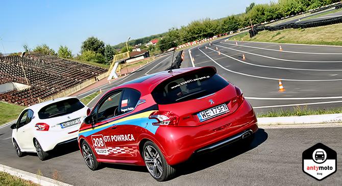 RELACJA: Testy Peugeot 208 GTi na Torze Radom
