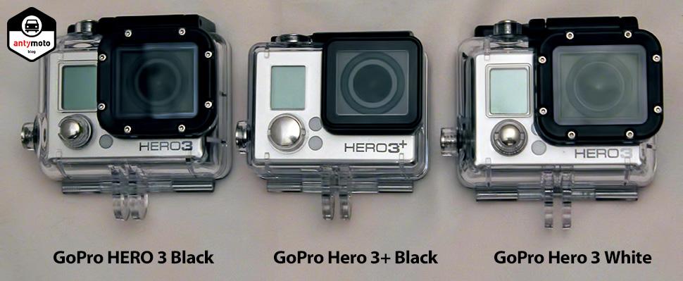 TEST: Którą kamerę GoPro wybrać? Porównanie modeli Hero 3 White, Hero 3 Black i Hero 3+ Black