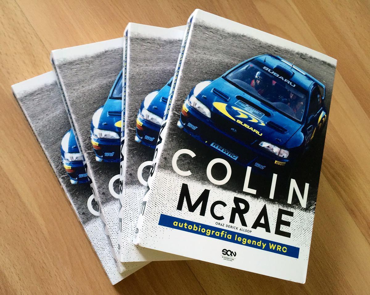 Do wygrania 3 egzemplarze autobiografii Colina McRae! Jedną książkę zostawiamy sobie, do recenzji ;)
