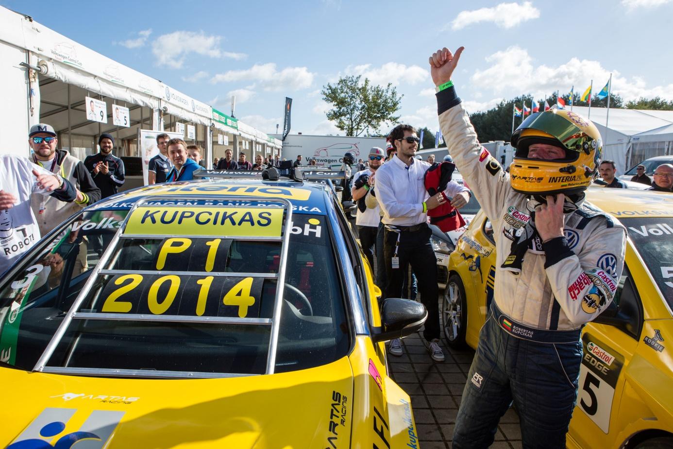 Zwycięzca Volkswagen Castrol Cup 2014