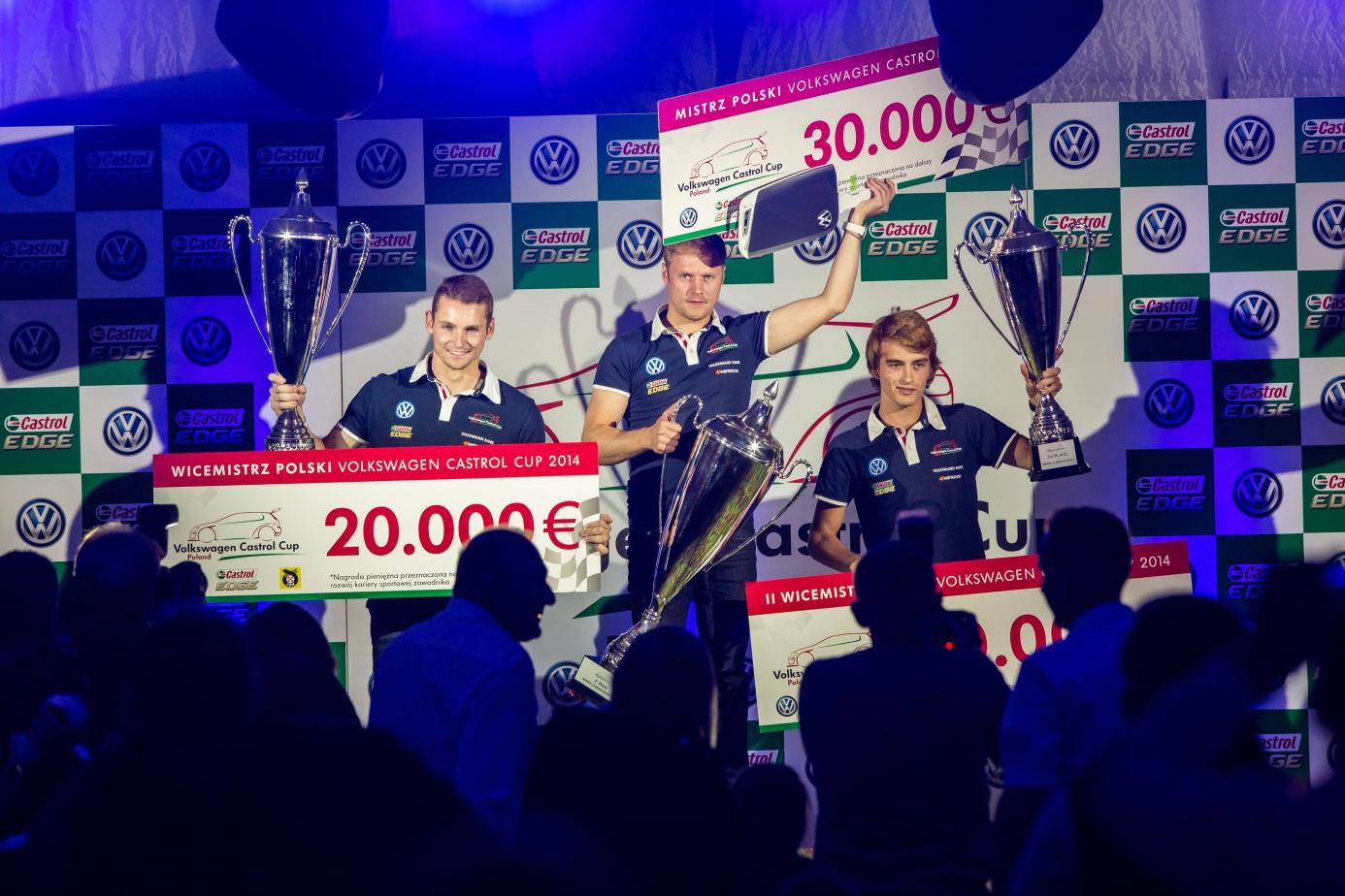 Wielka radość i fundusze na dalszy rozwój kariery. Wszystko do dzięki Volkswagen Castrol Cup.