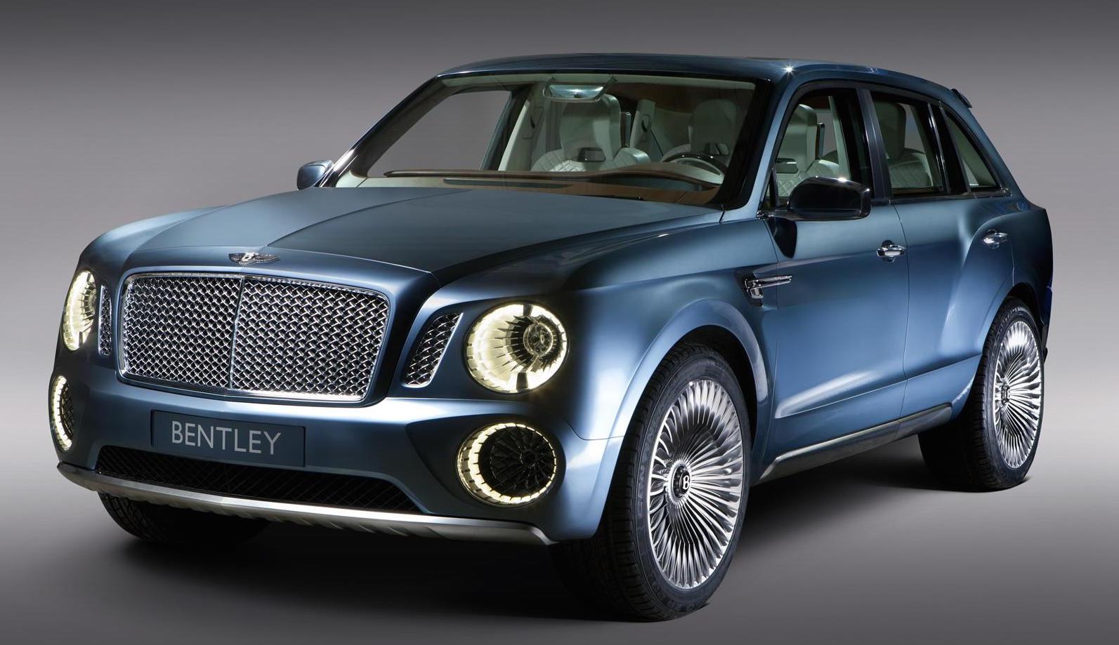 Bentley SUV (EXP 9F Concept)