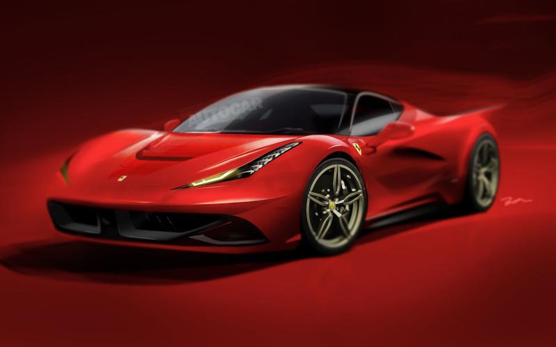 Tak może wyglądać następca Ferrari 458 Italia