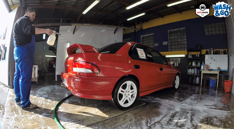 Suszenie samochodu