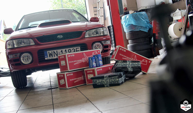 Subaru Impreza części Ucando