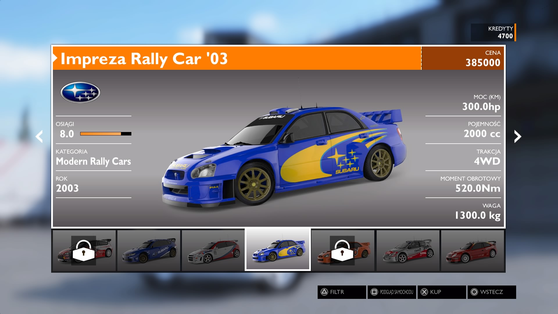Sebastien Loeb Rally Evo