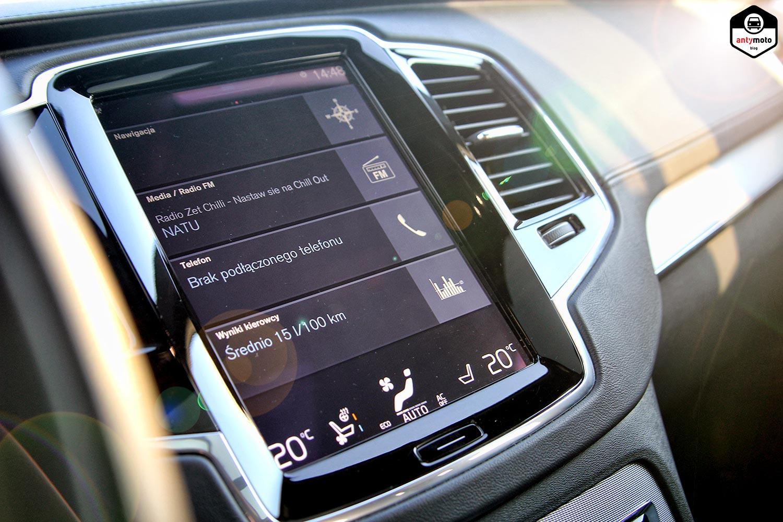 Volvo XC90 ekran