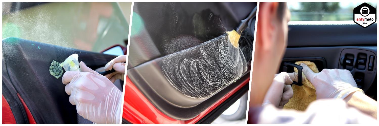Auto detailing wnętrze plastiki