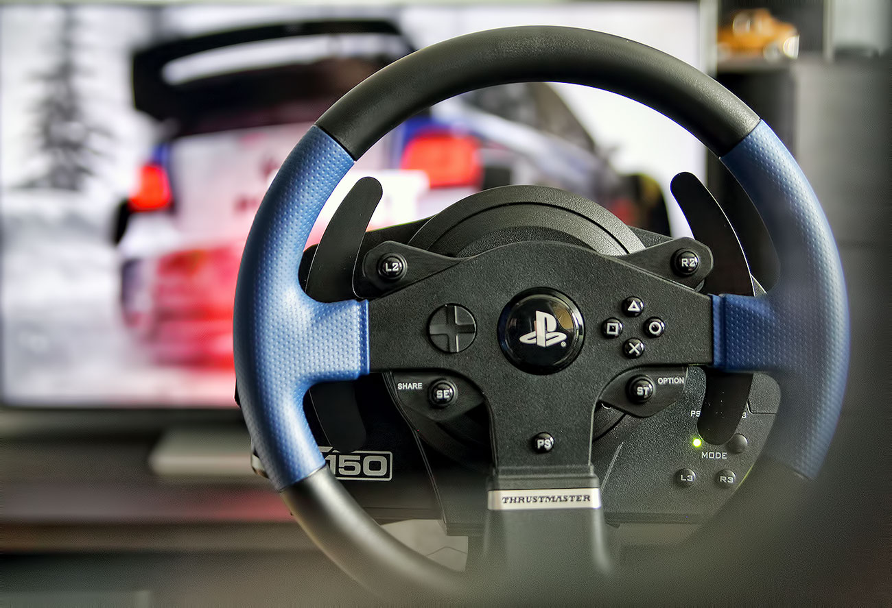 Thrustmaster T150 DiRT Rally