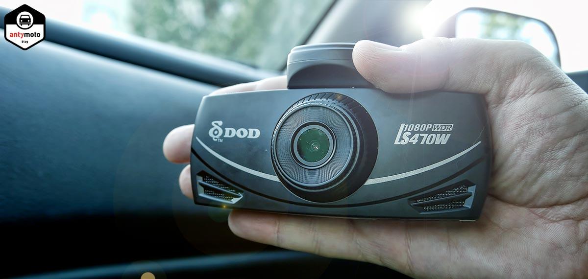 Wideorejestrator DOD LS470W test kamera samochodowa