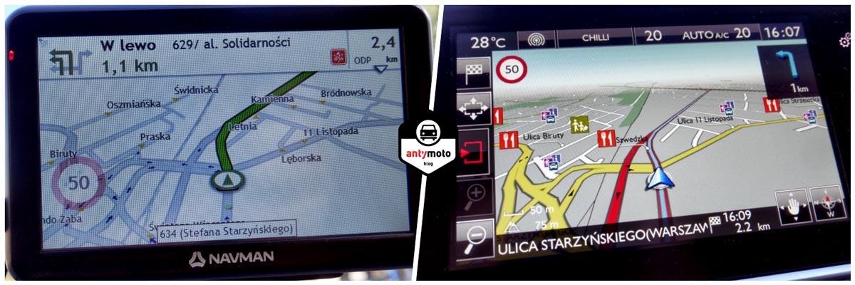 Test nawigacji samochodowej Navman 5000 LM Test nawigacji samochodowej Navman 5000 LM