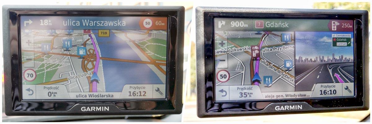 test nawigacji Garmin Drive 50