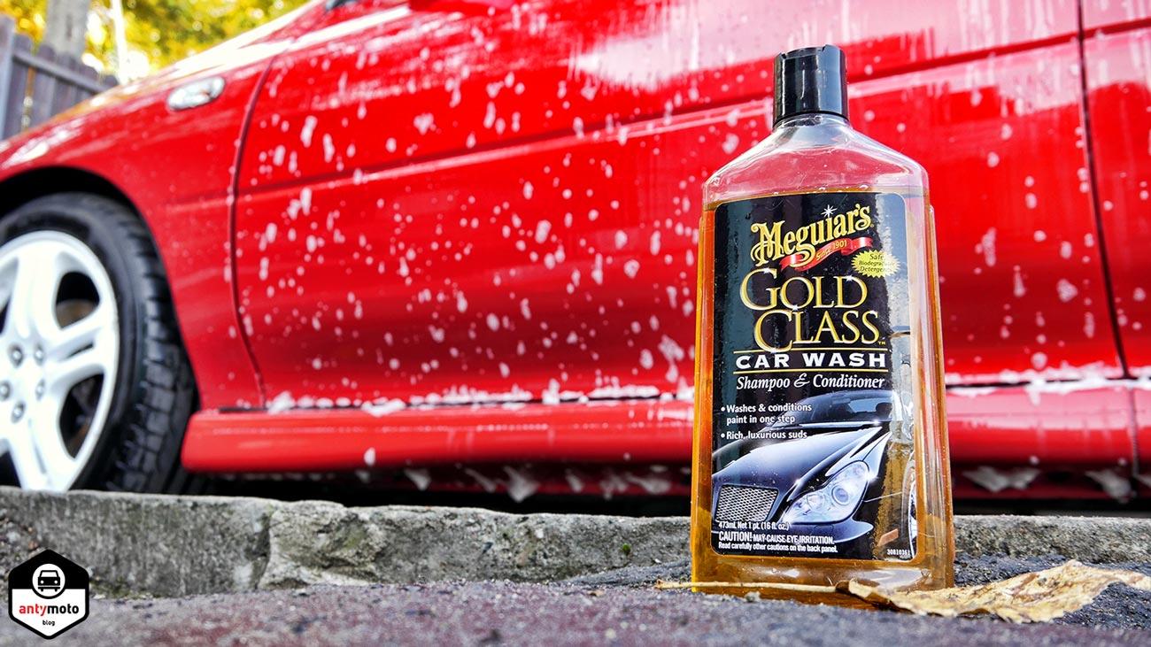 szampon samochodowy Meguiar's Gold Class