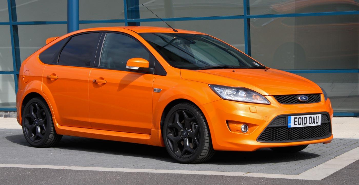 """""""Elektryzująca pomarańcza"""" na Ford Focus ST"""
