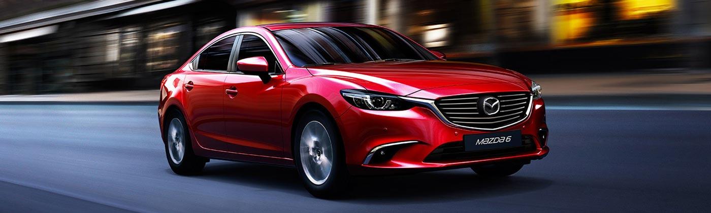 """Mazda w kolorze """"Soul Red"""""""