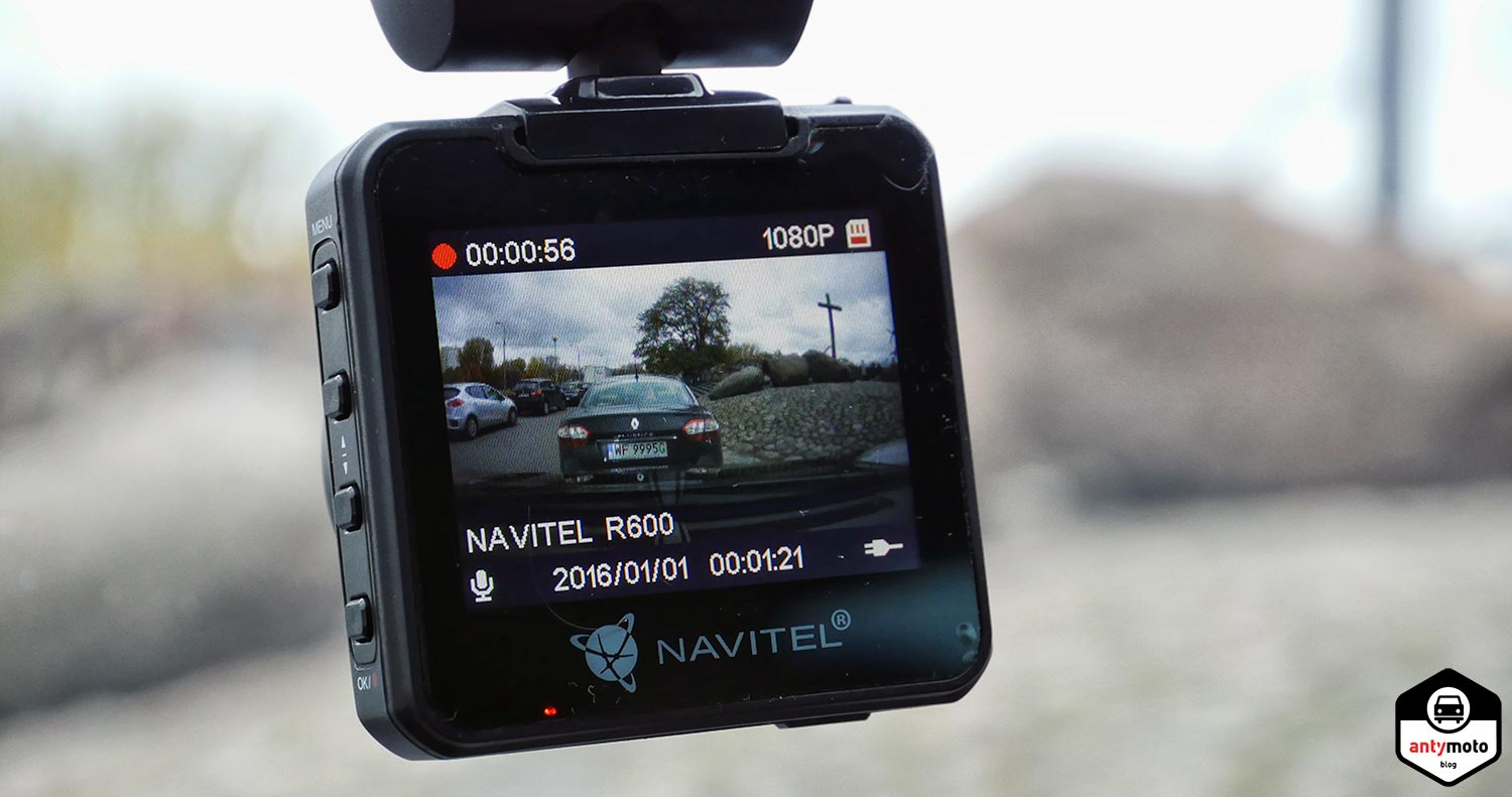 Navitel DVR R600 test wideorejestrator