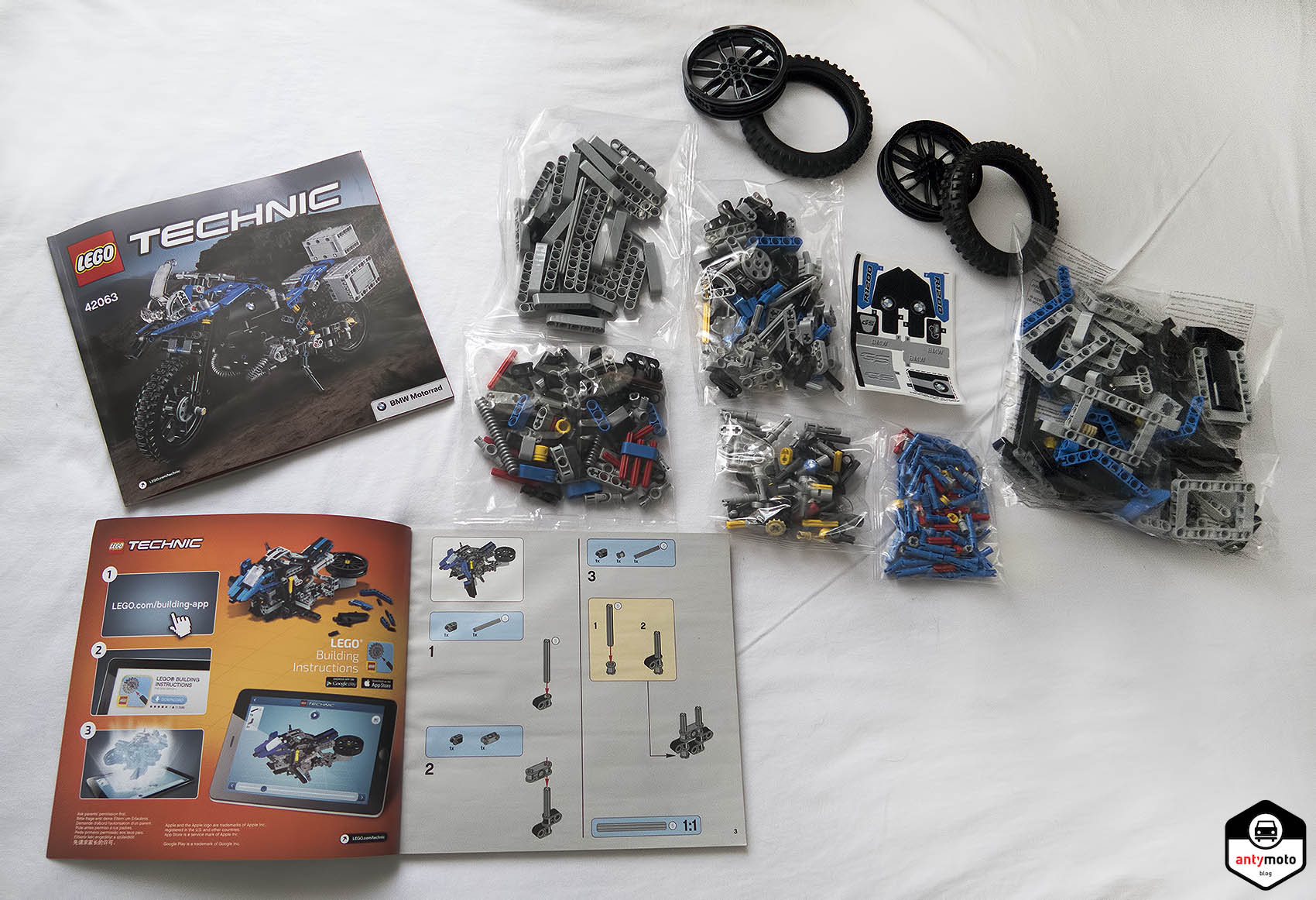 LEGO Technic, klocki BMW R 1200 GS Adventure