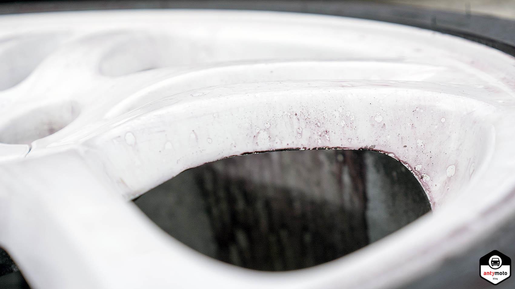 Czyszczenie mycie felg