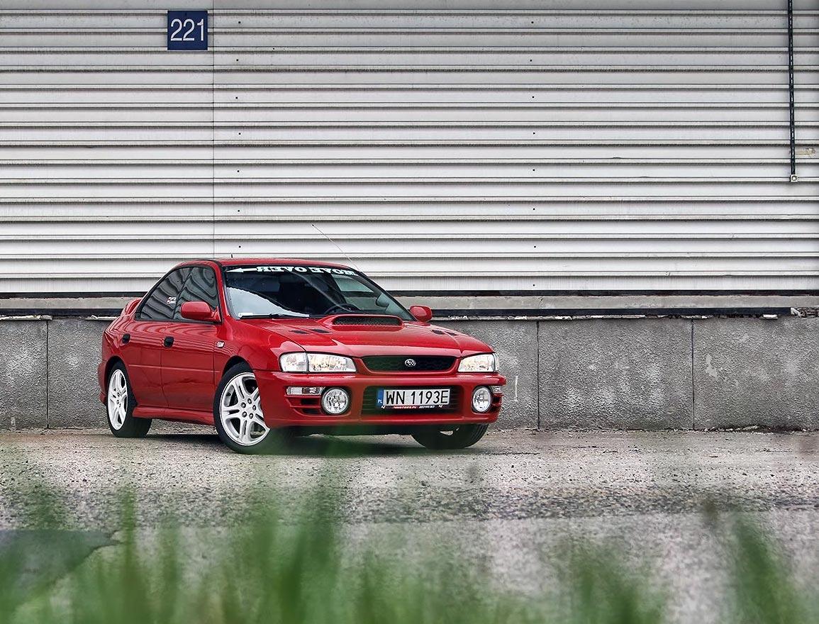 Youngtimer Subaru Impreza GT