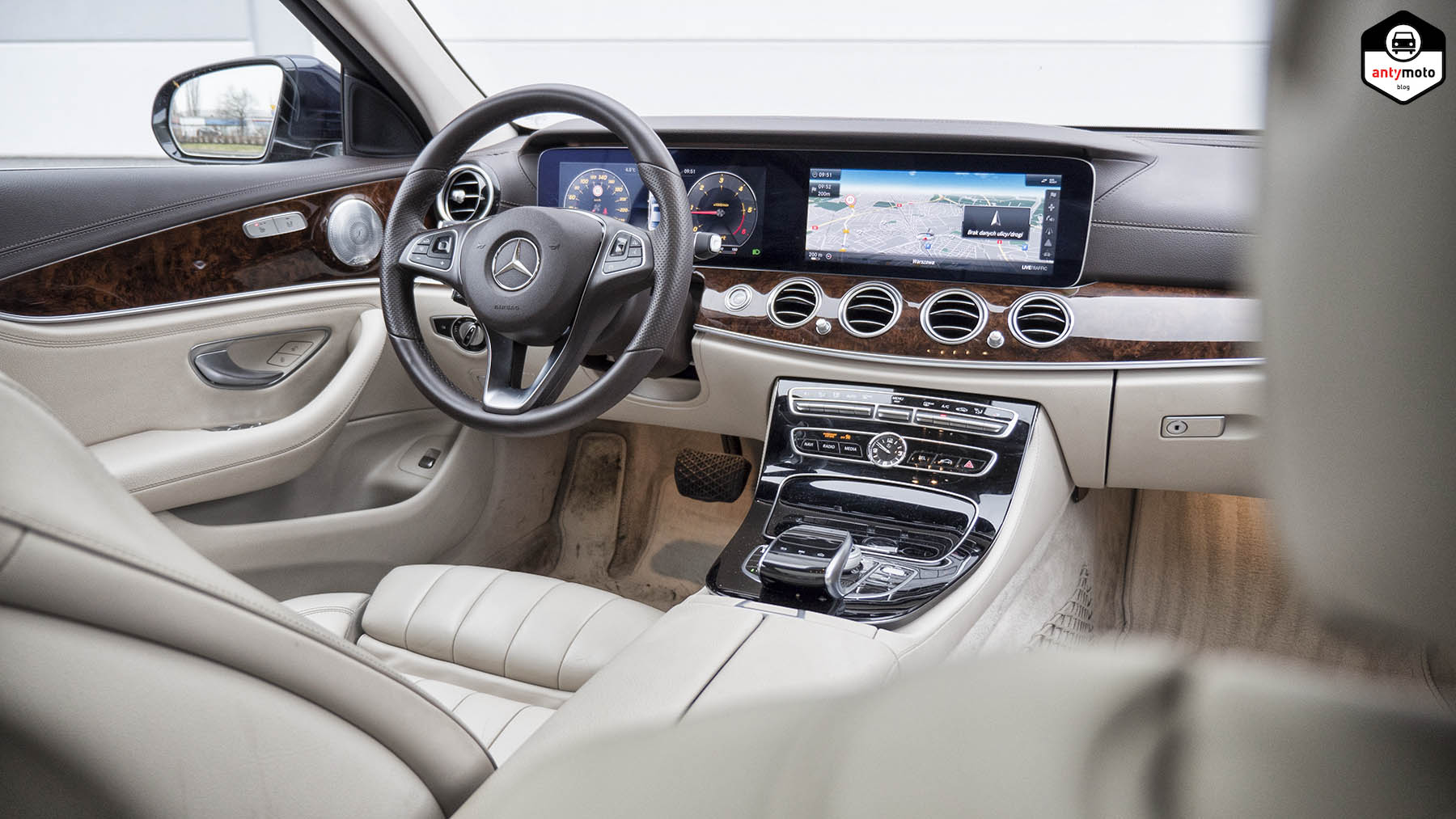 Test Mercedes E220d