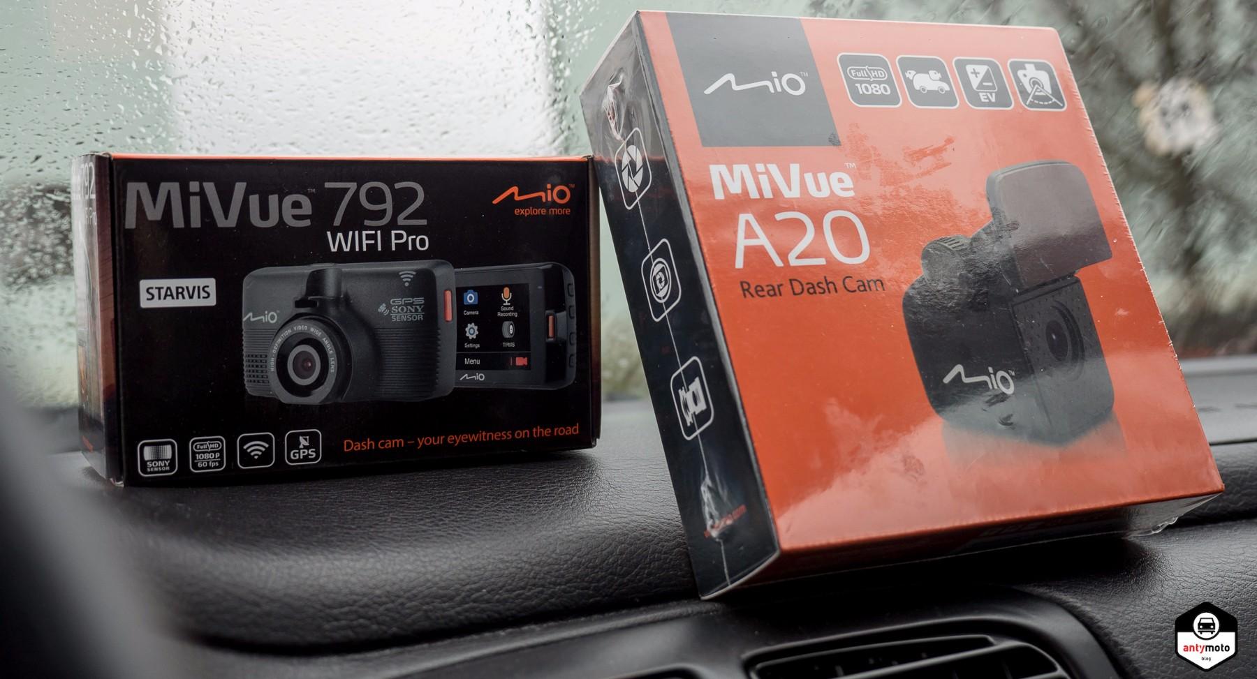 Test wideorejestratora Mio MiVue 792 WIFI Pro