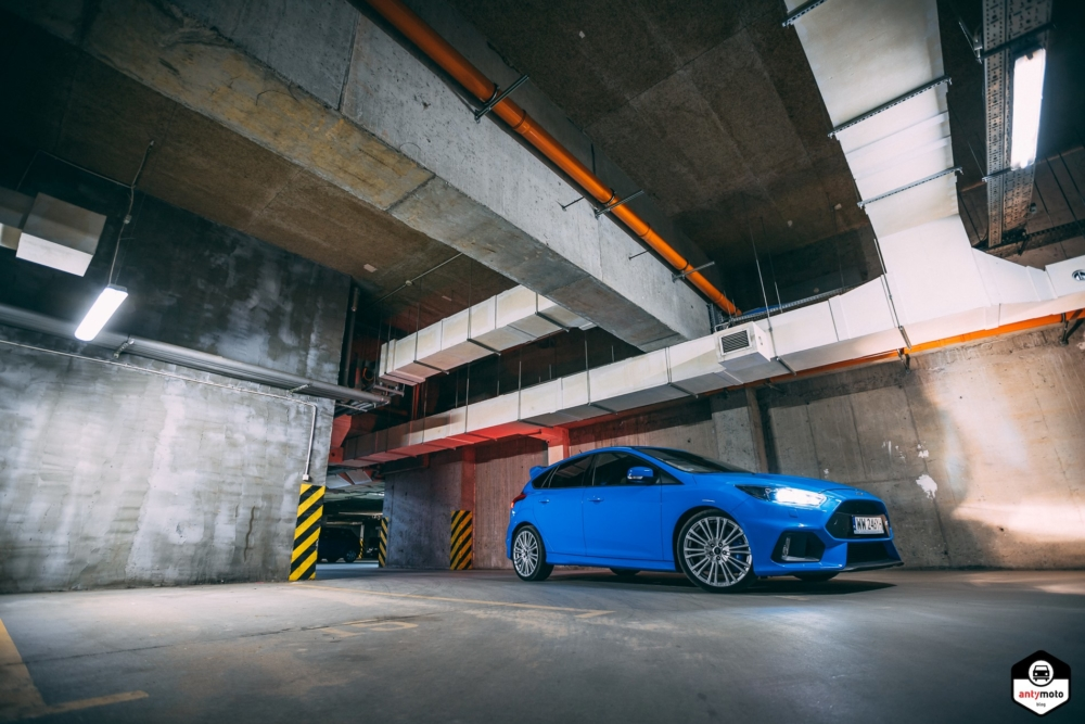 TEST Ford Focus RS 2.3 350 KM