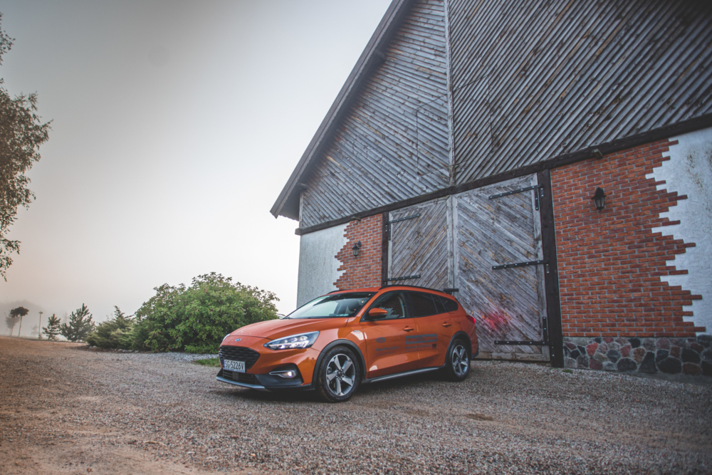 Test Ford Focus Active