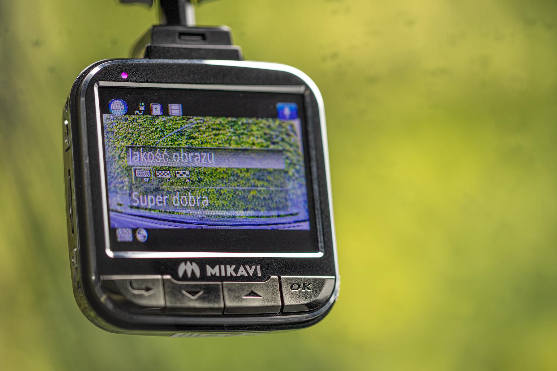 Mikavi wideorejestrator kamera samochodowa (10)