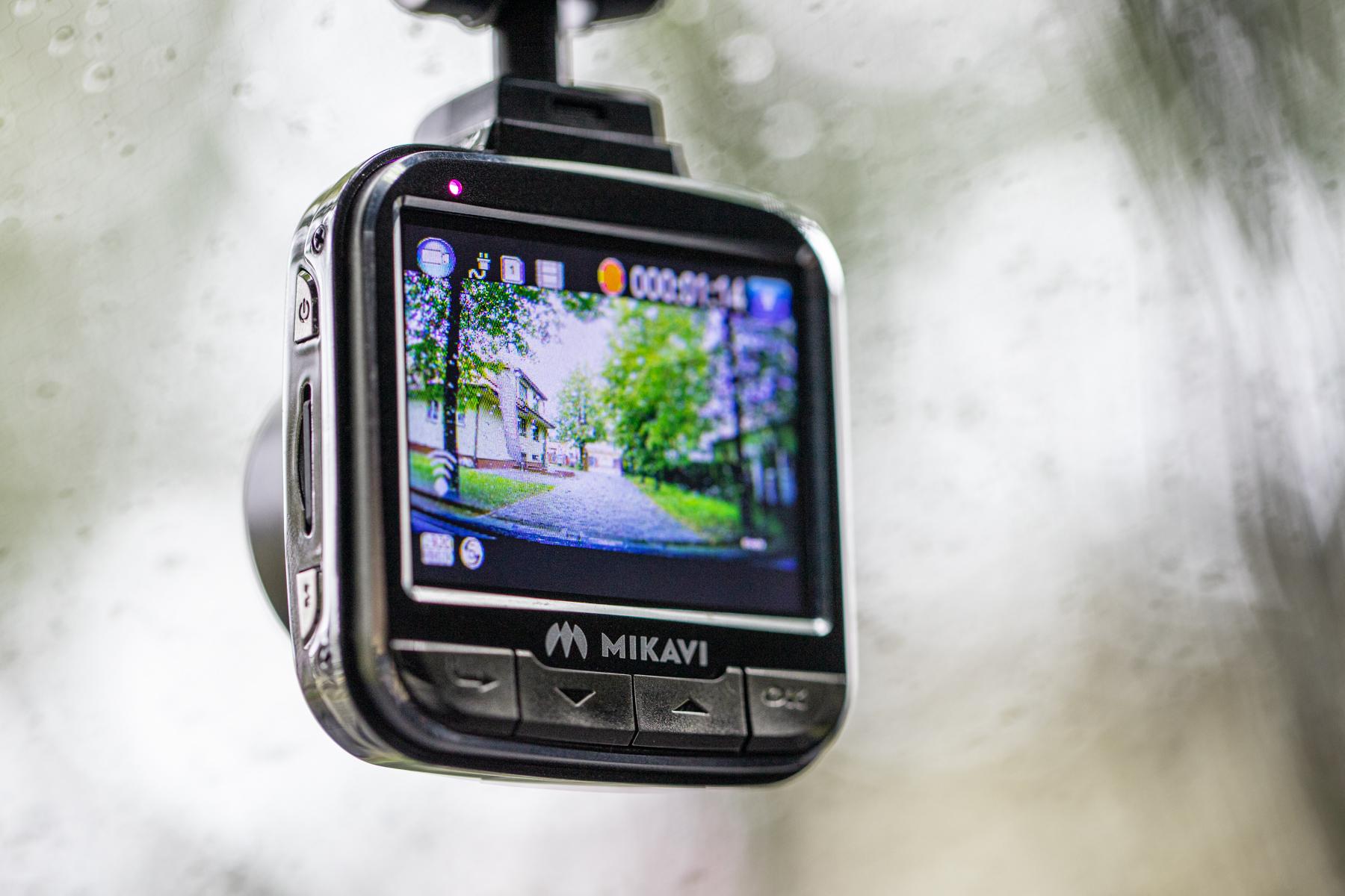 Mikavi wideorejestrator kamera samochodowa (15)