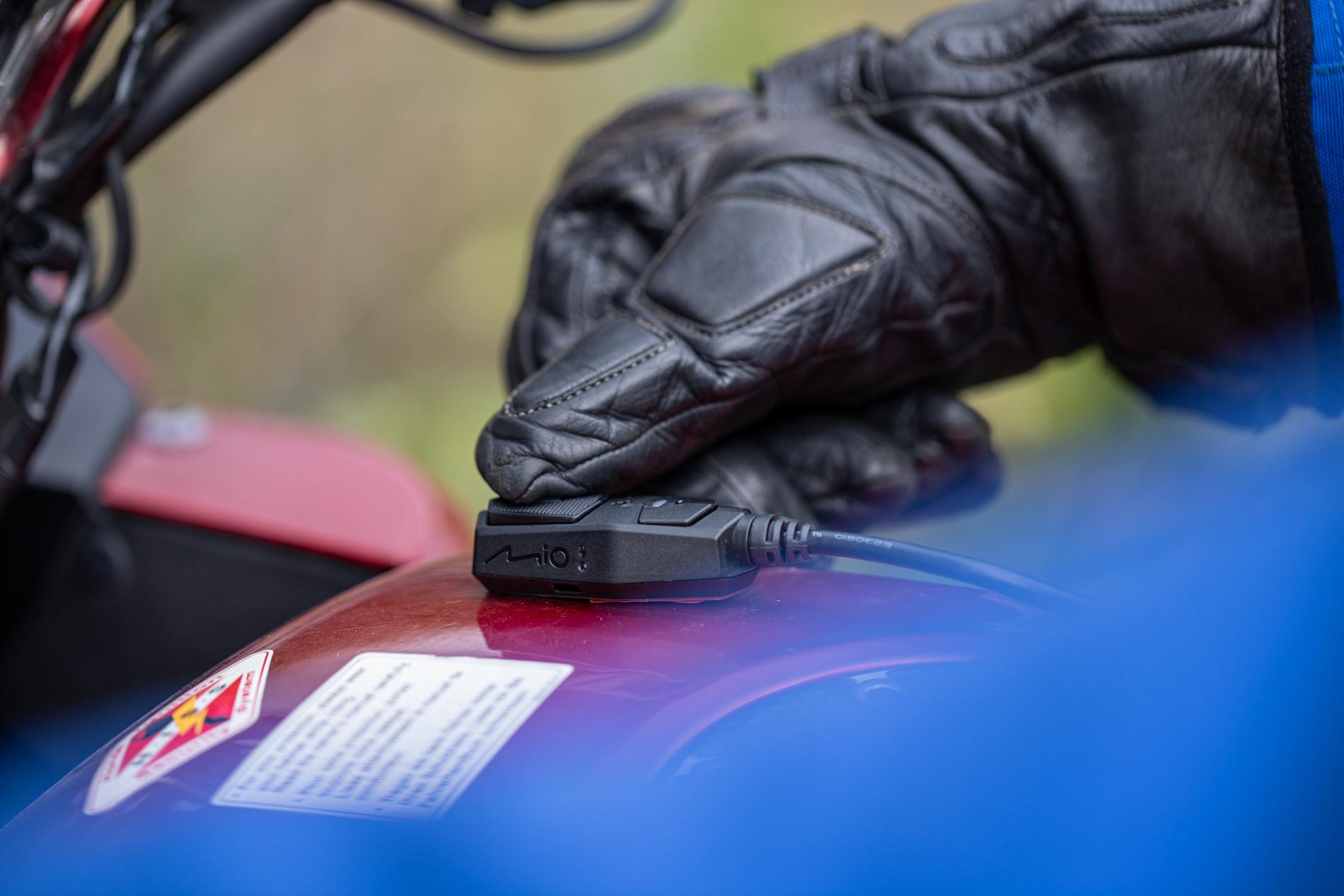 Test recenzja Mio MiVue M760D wideorejestrator motocykl