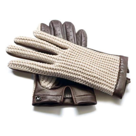 Rękawiczki samochodowe męskie - napoCROCHET
