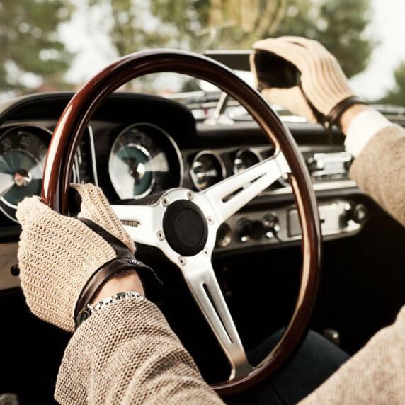 napoCROCHET rękawiczki samochodowe