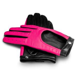 napoNEON damskie rękawiczki samochodowe