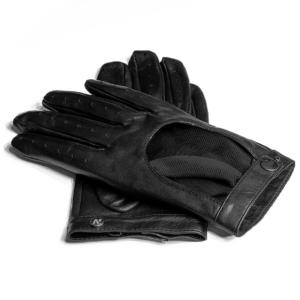 Rękawiczki samochodowe damskie napoREBEL (czarny)
