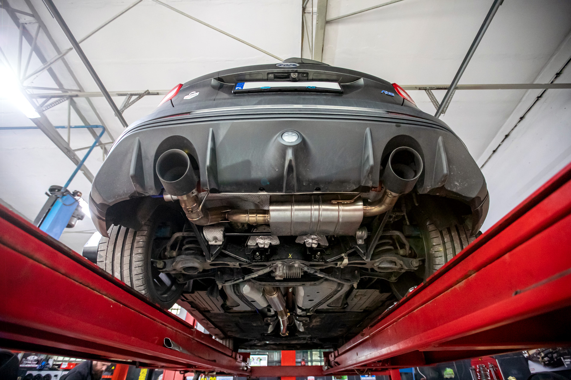 Wydech RCP Exhaust w Ford Focus RS