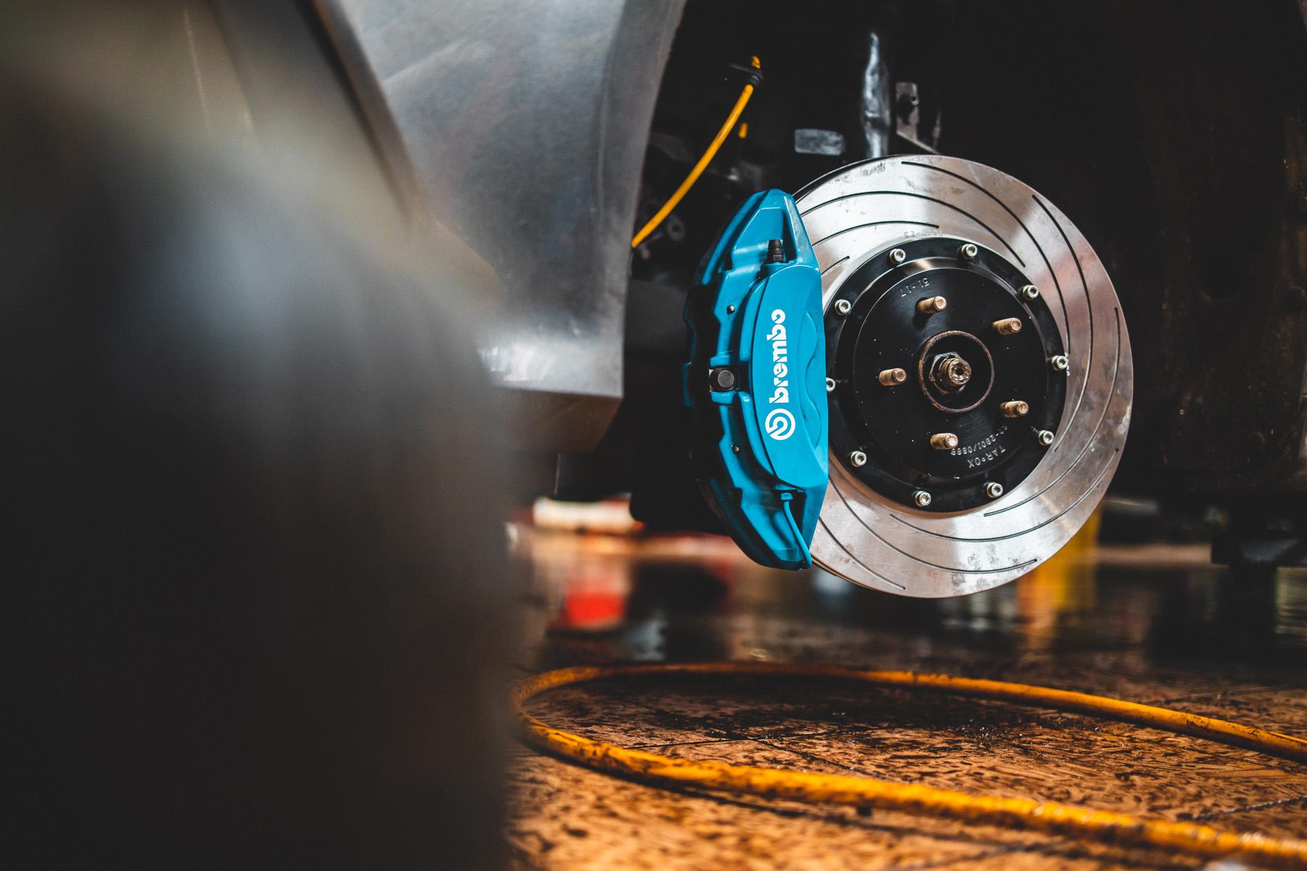 Ford Focus RS hamulce Tarox